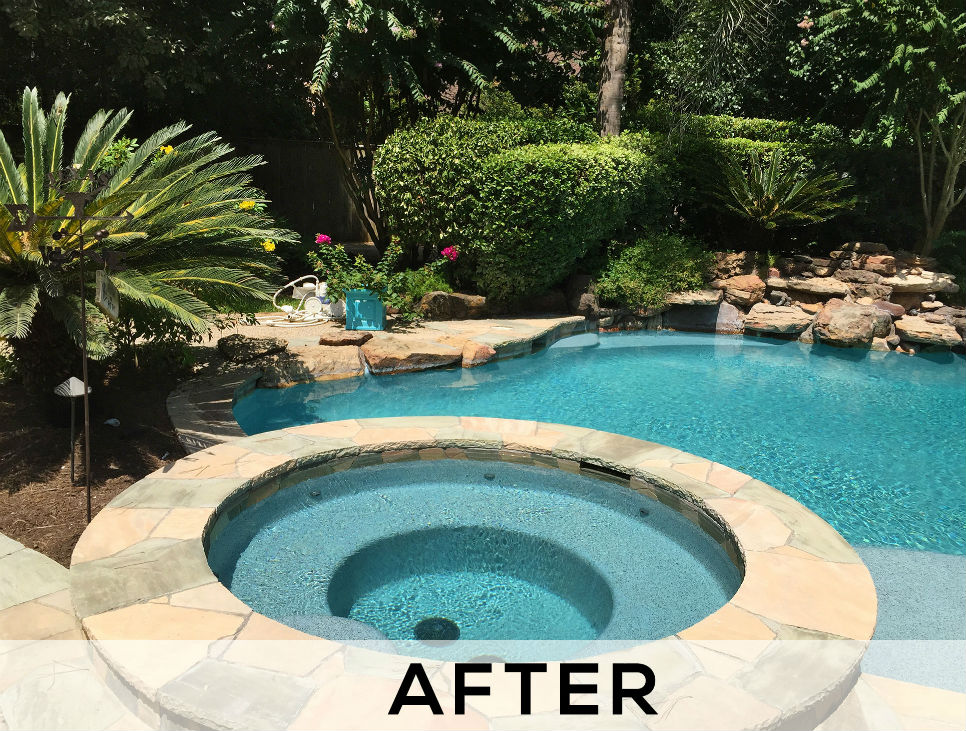 Pool Resurfacing Services - After