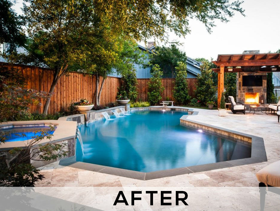 swimming pool renovation company - after