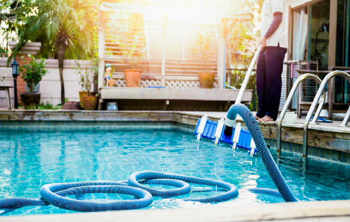 Weekly Pool Service and Pool Cleaning