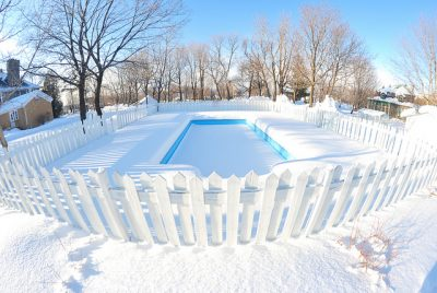 Closing a Pool for Winter