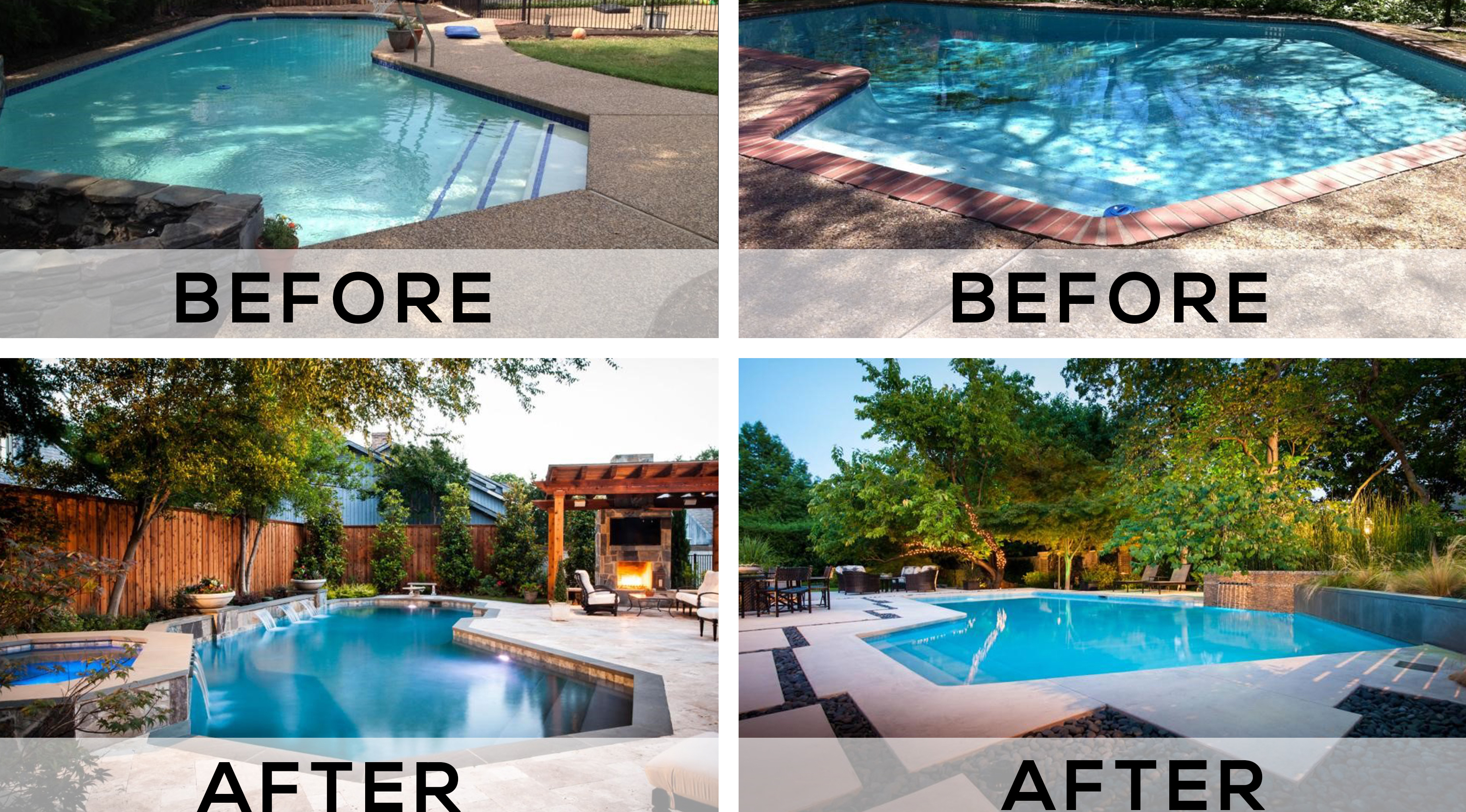 Backyard Pool Makeovers Before And After ~ BACKYARD POOL
