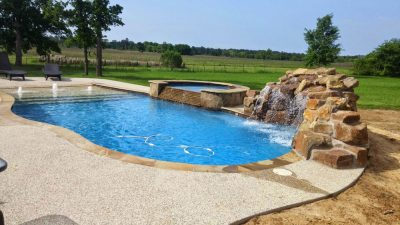 Building an Inground Pool in Houston