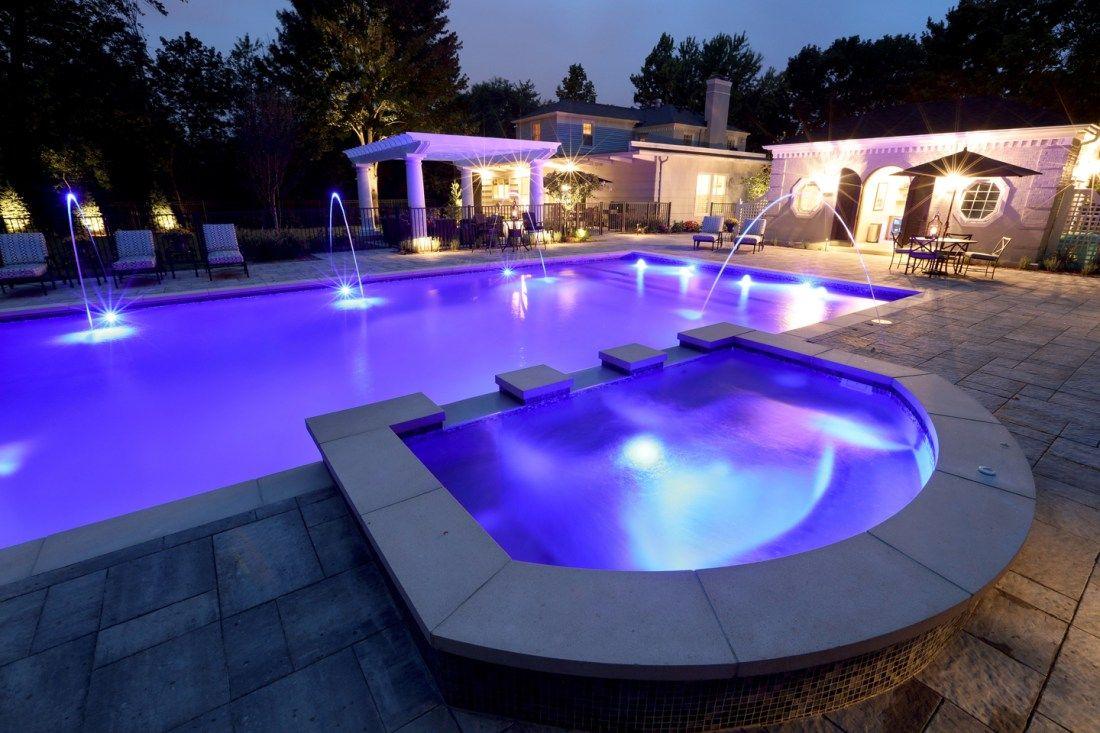 LED Pool Lighting Installation, LED Pool Light Installers