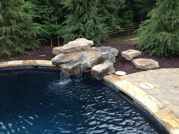 Rock Features - Pool Features